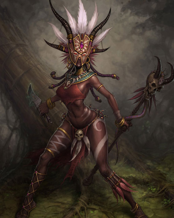 Female Witch Doctor by Arsenal21