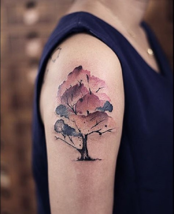 55 Designs De Tatouages D Arbres Tattoo Moi Le Blog