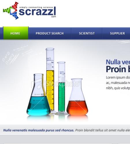 Scientist-website