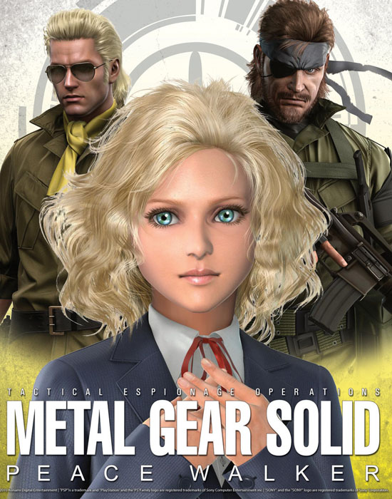 MGS: Peace Walker Poster.3 by ~B4H