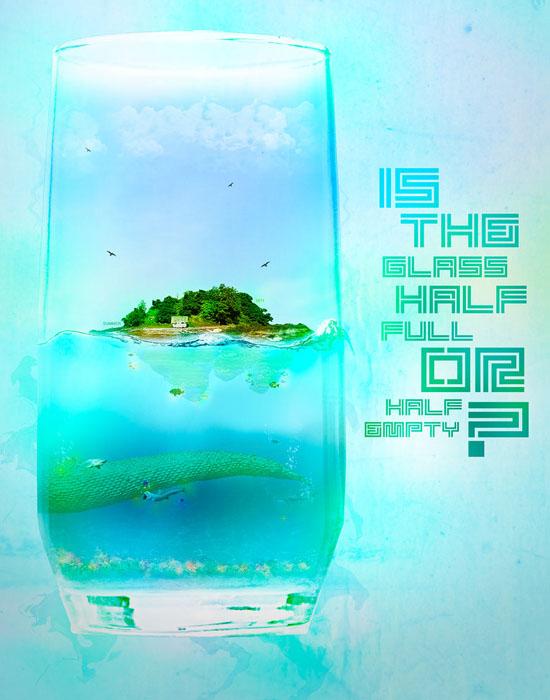 Glass of Water by ~peterdigiacomo
