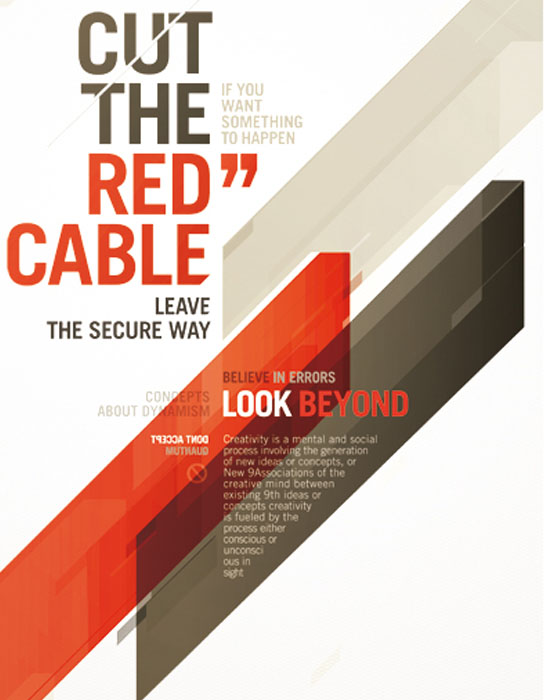 CUT THE RED CABLE by ~Metric72