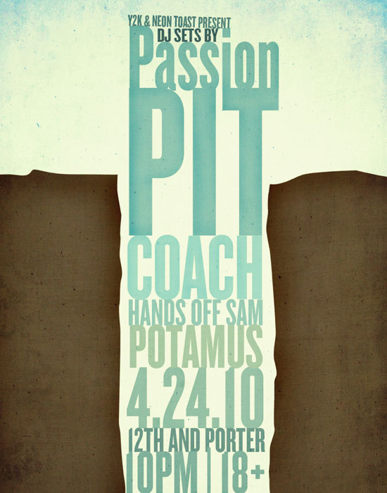 passion pit poster by *popestvictor