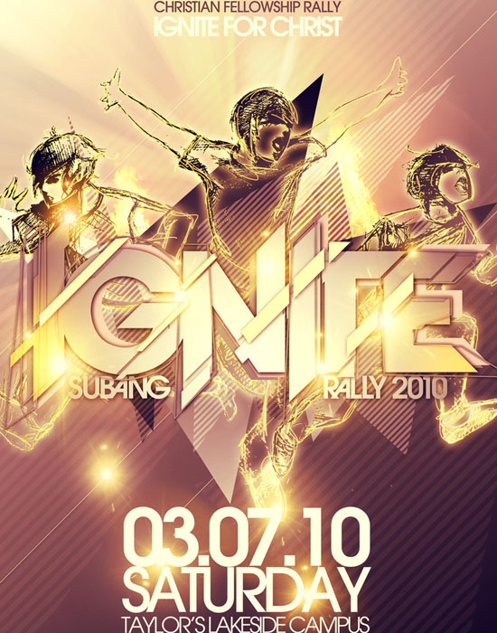 IGNITE Official Poster by ~graffyty