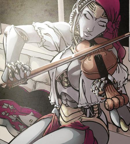 Robot-Violinist