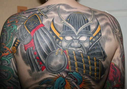 Japanese Style Demon Tattoo