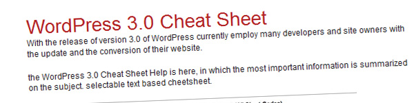 wordpress-3-0-cheat-sheet