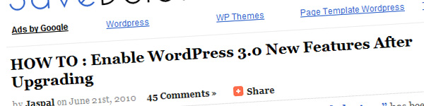 how-to-enable-wordpress-3-0-new-features-after-upgradation