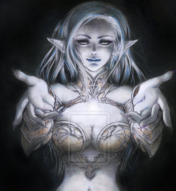 Lineage II - Dark Elf by HIsekai