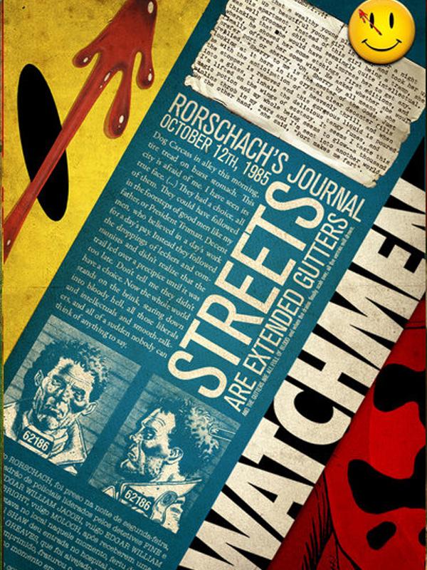 Rorschach's Journal by fabianohikaru