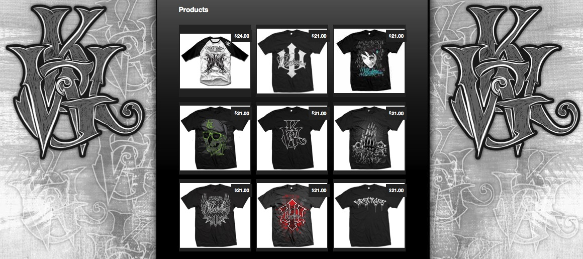 Wreckage Clothing Two T-Shirt Giveaway CLOSED - nenuno creative