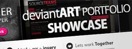 DeviantART Web Design Showcase: Portfolio Templates