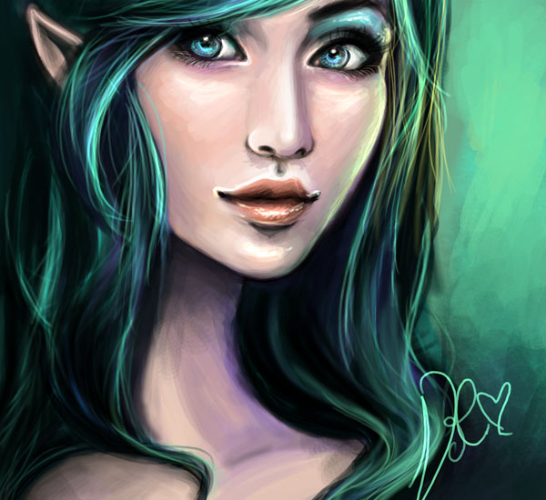 Emerald Green by vilhelmina