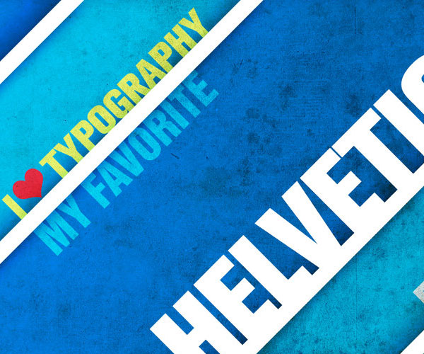Helvetica My favorite by ~skingcito