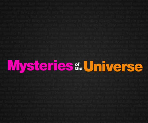 Mysteries of the Universe Wall by ~reimu
