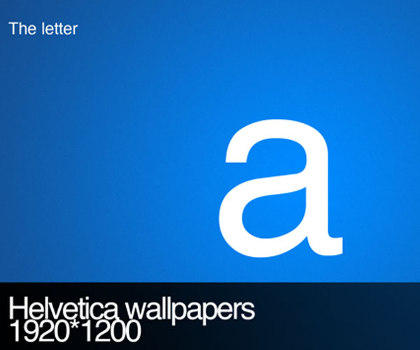 Helvetica Wallpapers by ~m4t7