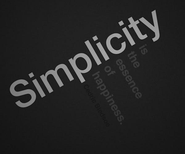 Simplicity by ~osrek
