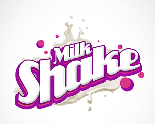 MilkShake Logo by EAMejia