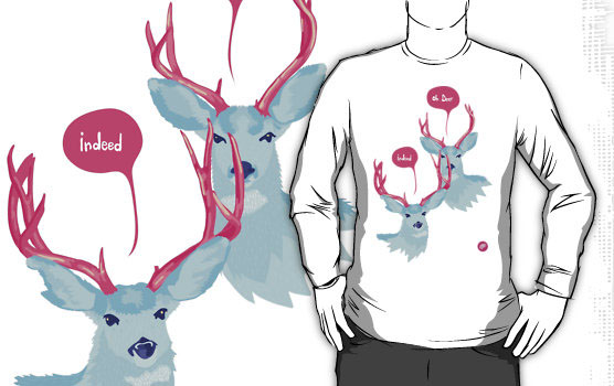 OH DEER INDEED T-Shirt