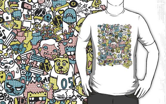 JU5 x AKUTOU T-Shirt