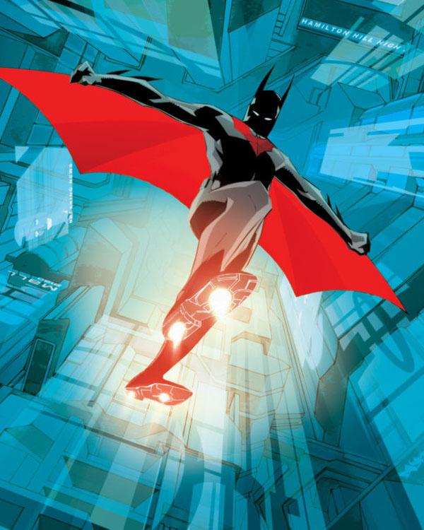 Batman Beyond 2 Cover by duss005