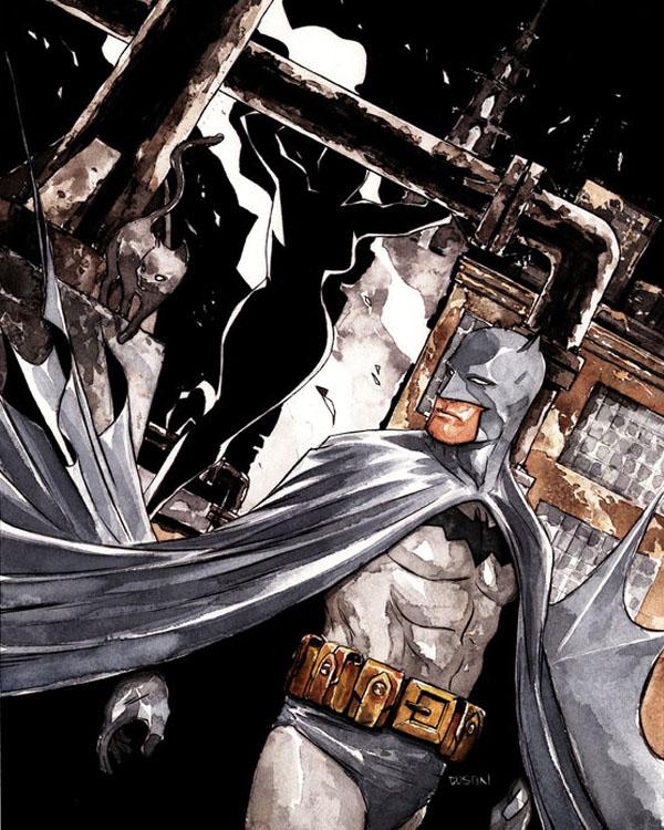 detective comics 845 cover by duss005