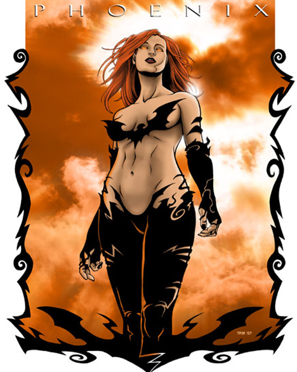 Dark Phoenix by TPollockJR