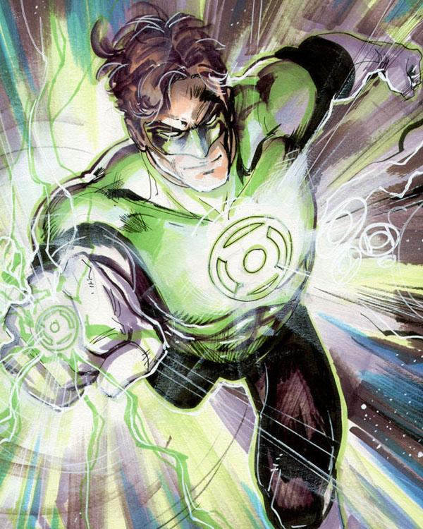 Green Lantern 01 by Cinar