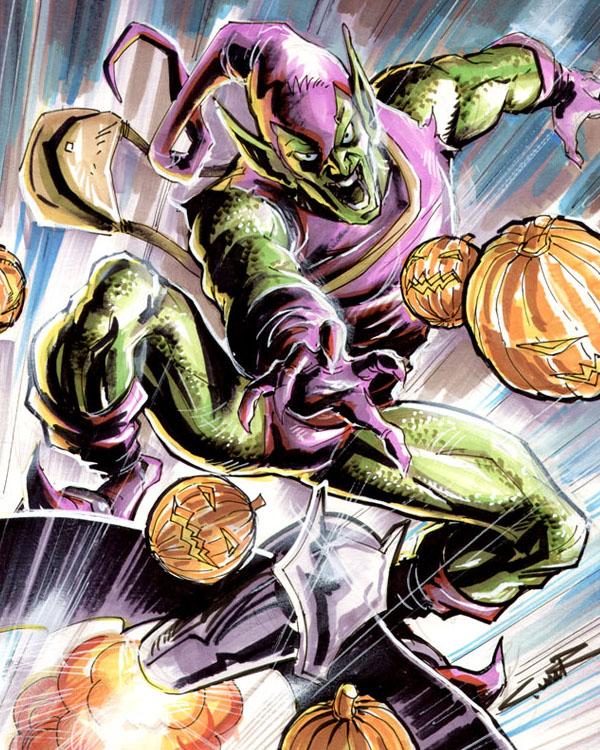 Green Goblin by Cinar
