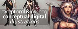 Exceptional & Inspiring Conceptual Digital Illustrations
