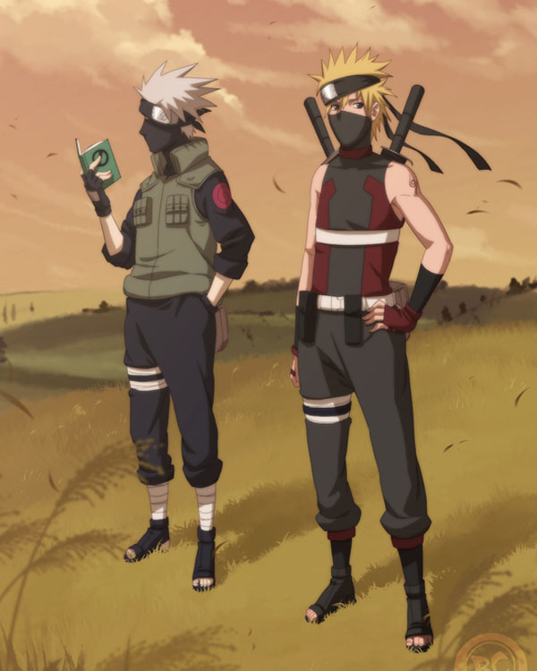 Asidou and Kakashi