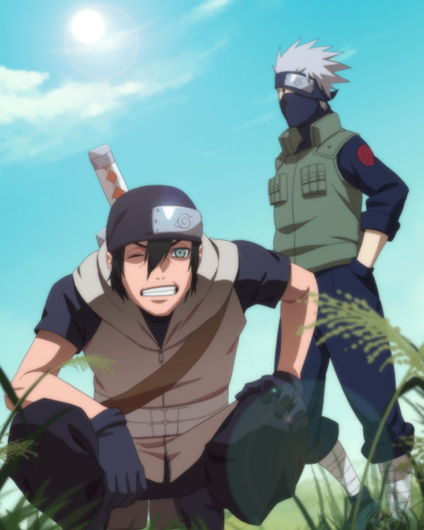 Maru and Kakashi