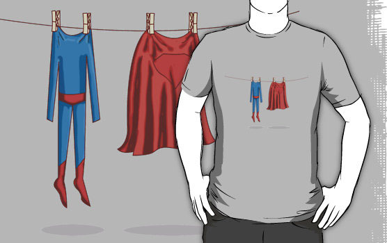 'Super laundry' T-Shirt by Reece Ward