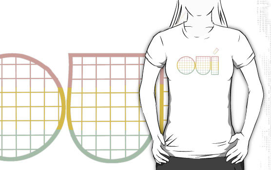'oui, sir.' T-Shirt by Lars