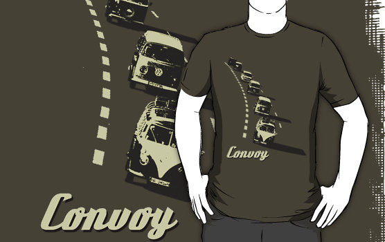 'Convoy' T-Shirt by Chris Jackson