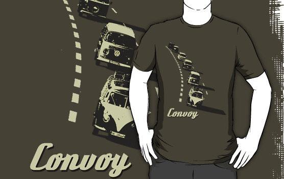 'Convoy' T-Shirt by Chris Jackson