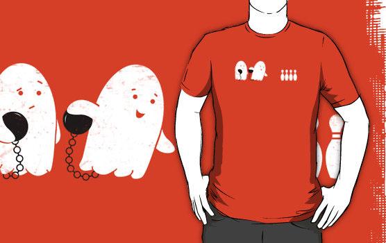 'Bowling Night' T-Shirt by Teo Zirinis