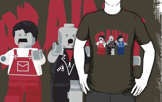 'Brains!' T-Shirt by DisgruntledMonk