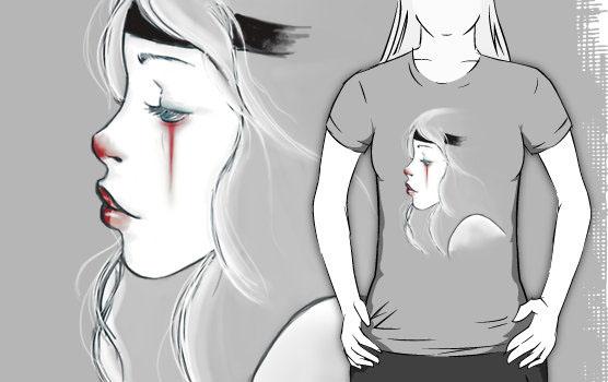 'clown girl' T-Shirt by lunaticpark