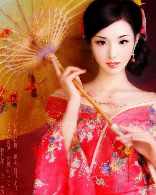 Kimono Beauty by yurkary