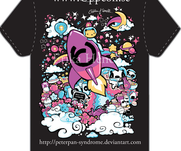 Uppcon 10 T-shirt design by ~PeterPan-Syndrom