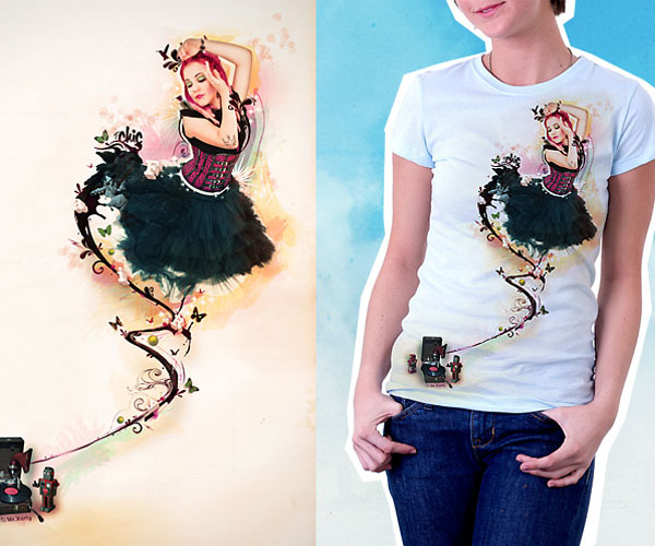 Fairy-Darling_Tee-Shirt by X3RTY