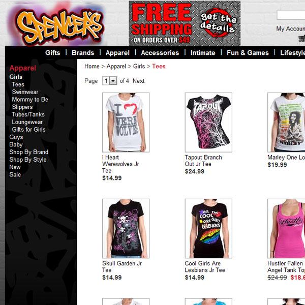 Spencers Online