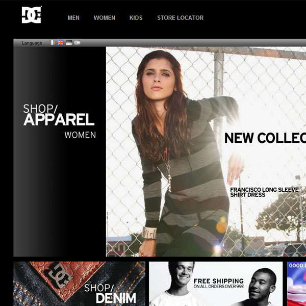 DC Shoes Clothing
