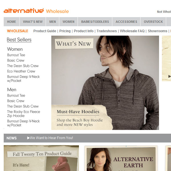 alternative wholesale