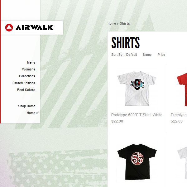 Airwalk Clothing