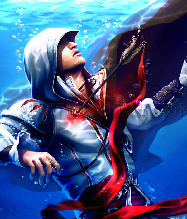 Amazing Digital Artwork Assassin S Creed Nenuno Creative