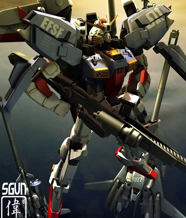 S-Gundam by sandrum