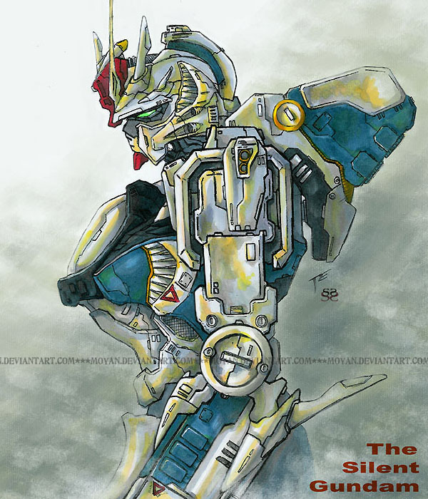 The Silent Gundam by moyan