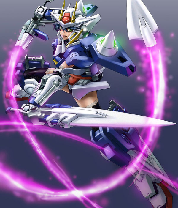 Gundam 00 Girl by ComiPa